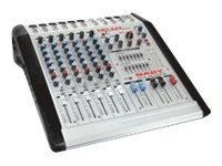 Nady 6 Channel 4 Bus Powered Console Mixer, PMX-600, 31199171, Stereo Components
