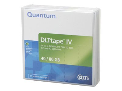 Quantum 40 80GB 1 2 557m DLT IV Tape Cartridge, THXKD-02, 48043, Tape Drive Cartridges & Accessories