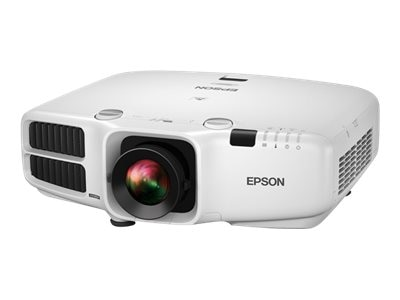 Epson PowerLite Pro G6070W WXGA 3LCD Projector with Standard Lens, 5500 Lumens, White, V11H703020, 18521189, Projectors