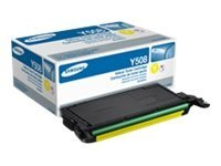 Samsung Yellow Toner Cartridge for CLP-620ND, CLP-670ND & CLP-670N Color Laser Printers