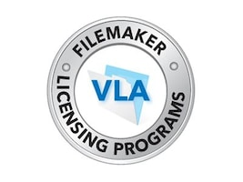 FileMaker Corp. Govt. VLA FileMaker Pro Client Maintenance Renewal 100-249 Users 1 Year, FM130236LL, 18317698, Software - Database