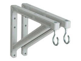 Draper Non-adjustable Wall Brackets 10 to 14 Extension, 227214, 6389871, Stands & Mounts - AV