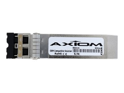Axiom 10GBASE-SR SFP+  Transceiver For SFP-10G-SR-S, SFP-10G-SR-S-AX, 22250705, Network Transceivers