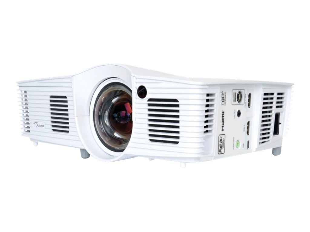 Optoma EH200ST WUXGA DLP 3D Projector, 2800 Lumens, White