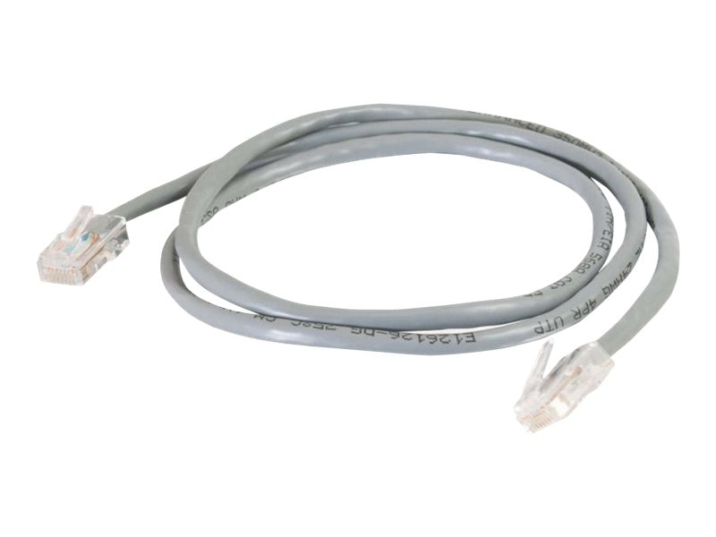 C2G Cat5e Non-Booted Unshielded (UTP) Network Patch Cable, Gray, 3ft, 22672, 222273, Cables