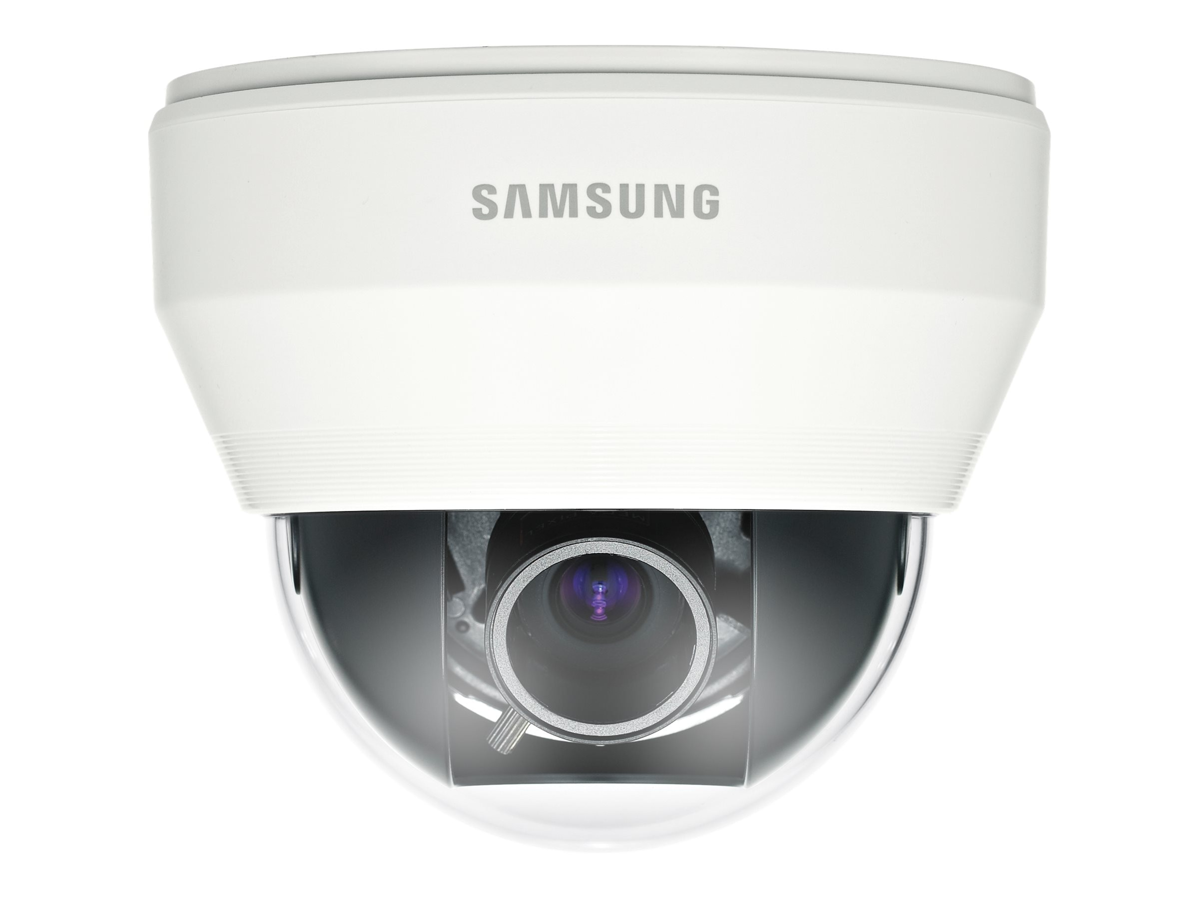Samsung 1280H Wide Dynamic Range Varifocal Dome Camera, White
