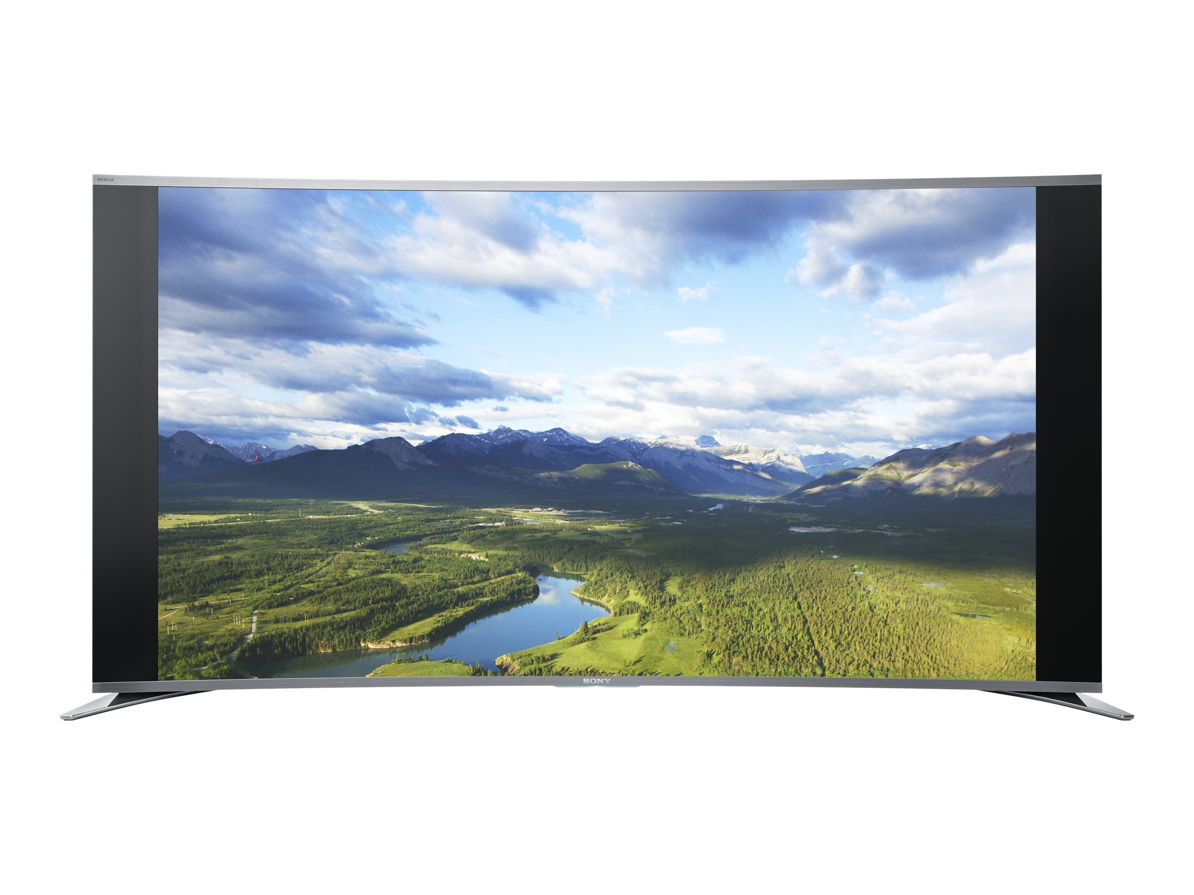 Sony 64.5 S990A Full HD Curved LED-LCD TV, Black