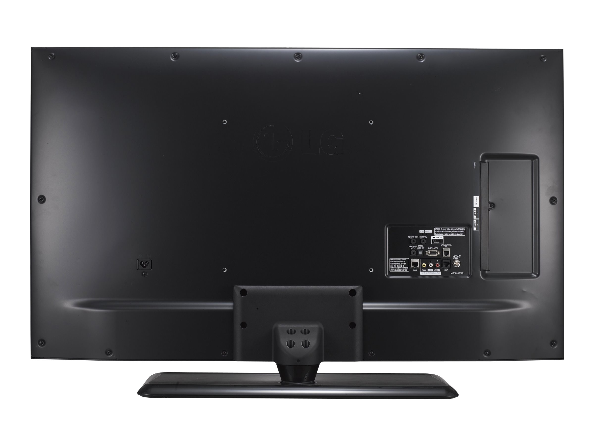 LG 48.5 LX560H Full HD LED-LCD Hospitality TV, Black, 49LX560H