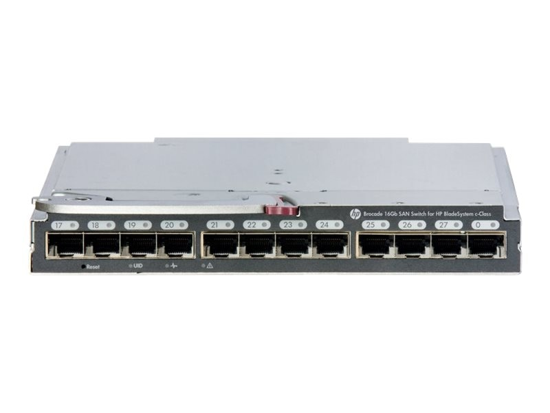 HPE Brocade16GB 28C Embedded SAN Switch, C8S46A, 16524757, Fibre Channel & SAN Switches