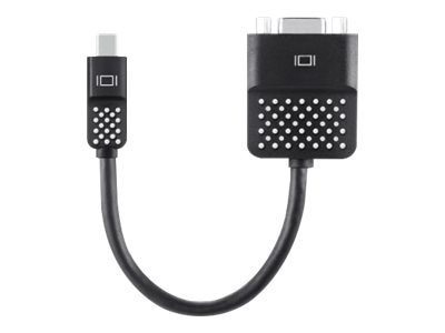 Belkin Mini DisplayPort to VGA M F Adapter, Black, F2CD028BT