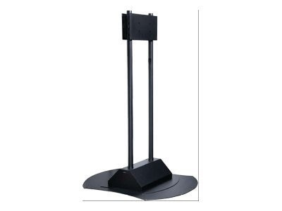 Peerless Floor Stand for Flat Panels 50-71in, Black, FPZ-670, 8742914, Stands & Mounts - AV