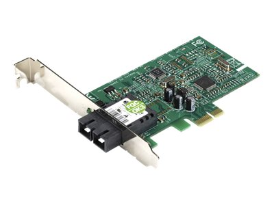 Black Box PCIe Fiber Adapter, 100Base FX, Multi-mode