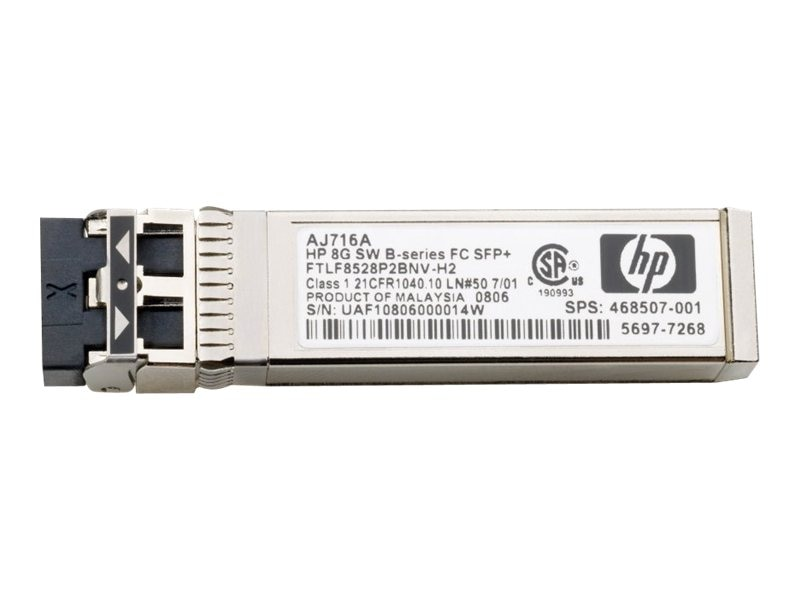 HPE B-Series 16GB SFP+ SW XCVR, QK724A, 13297085, Network Transceivers