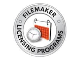 FileMaker Corp. VLA FileMaker Server Advanced - Maintenance reactivation 1 year 1 server - VLA - all levels, TU639LL/A, 13035069, Software - Database