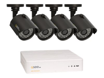Digital Peripheral Solutions 4-Channel DVR with 4x 720P HD Bullet Camers, 1TB HDD