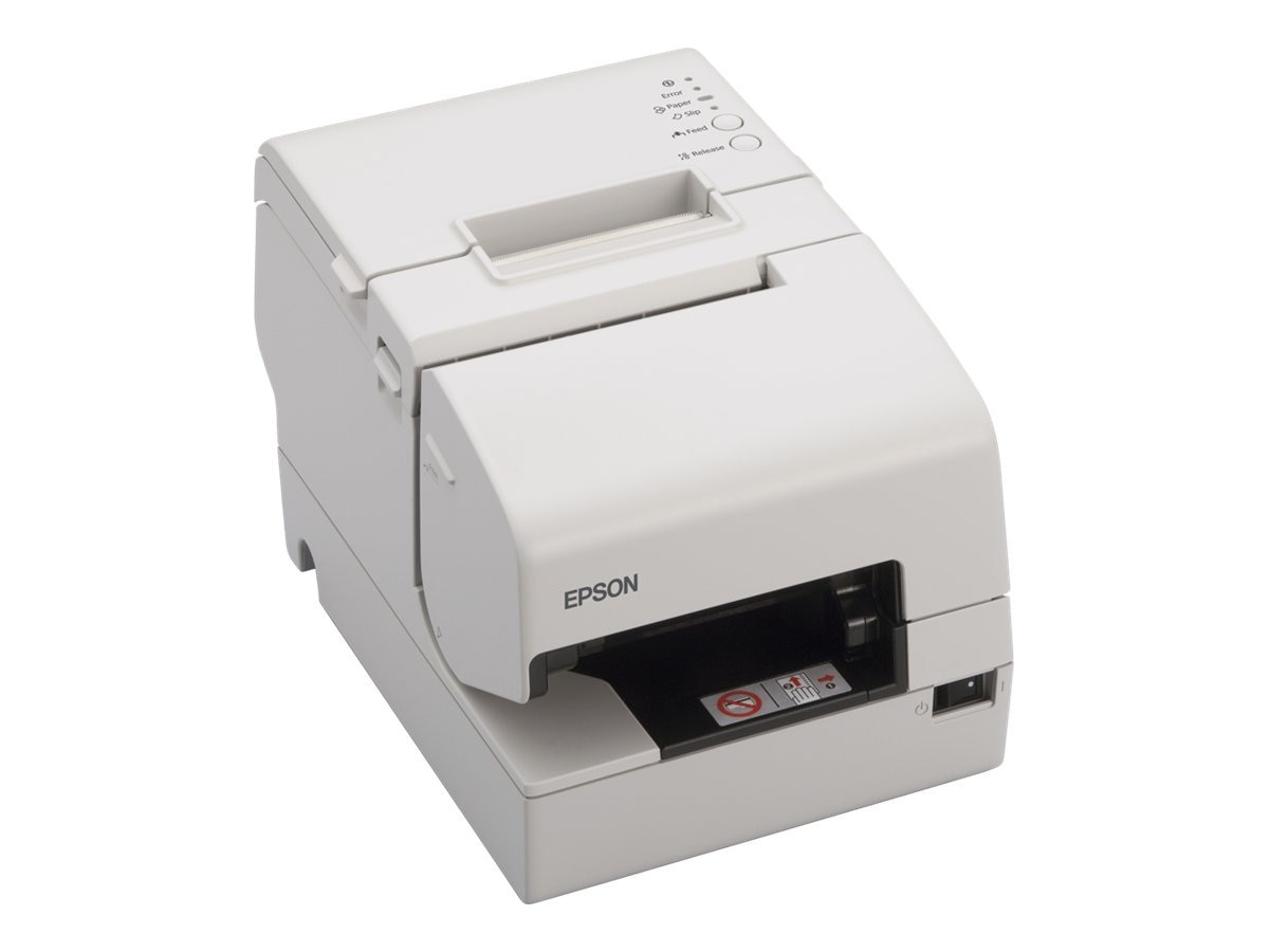 Epson TM-H6000IV ECW Serial USB Multifunction Printer w  Drop-In Validation