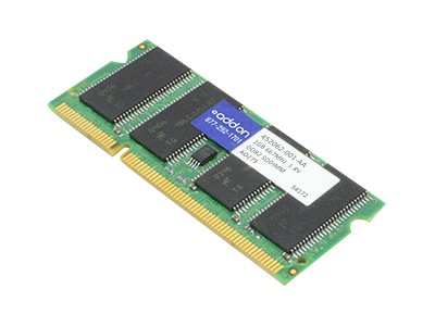 ACP-EP 1GB PC2-5300 200-pin DDR2 SDRAM SODIMM for HP, 452062-001-AA
