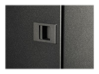 APC NetShelter SV 42U 800mm Wide x 1060mm Deep Enclosure with Sides, Black, AR2480