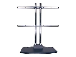 Premier Mounts Large Universal Tabletop Stand for Flat Panels 55 and up, PSD-TTS-L, 32036981, Stands & Mounts - AV