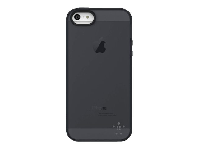 Belkin Grip Candy Sheer Case, Smolder Gravel for iPhone 5, F8W138TTC00, 14860802, Carrying Cases - Phones/PDAs