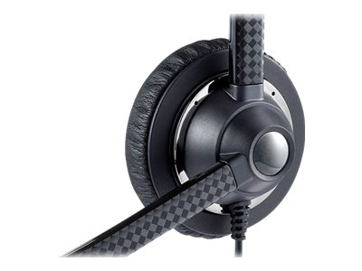 Jabra UC Voice 750 MS Duo Headband - Dark Grey, 7599-823-309