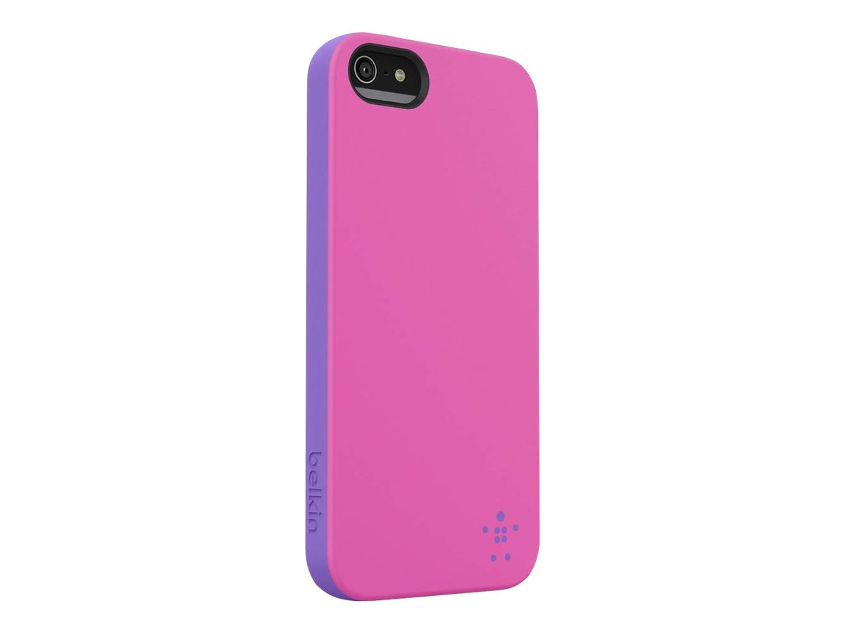 Belkin Grip Candy for iPhone 5, Day Glow Volta, F8W152TTC06, 14860933, Carrying Cases - Phones/PDAs