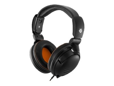 Steelseries 5HV3 Gaming Headset with Leather-Padded Earcups, 61031, 16128421, Headsets (w/ microphone)