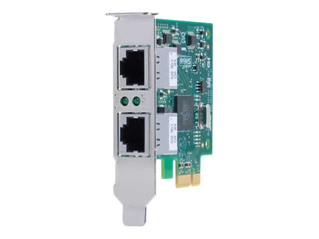 Allied Telesis 10KM 1000TX X2 PCI Express X1  Card 2-Port