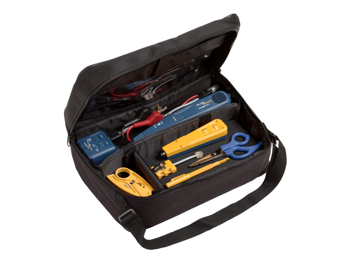 Fluke Electrical Contractor Telecom Kit II (with Pro3000 Analog Tone and Probe Kit), 11289000