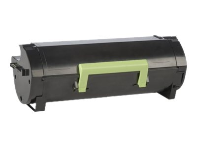 Lexmark 501 Black Return Program Toner Cartridge, 50F1000