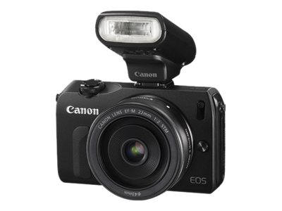 Canon EOS-M Mirrorless Digital Camera with EF-M 22mm f 2 STM Lens