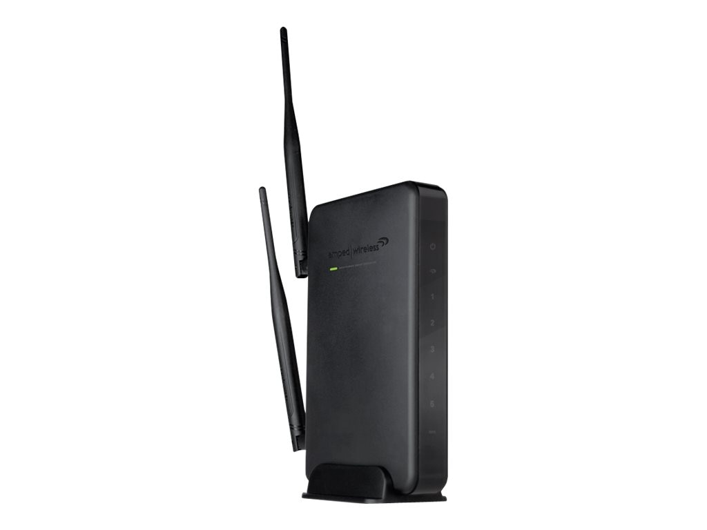 Amped Wireless High Power Wireless-N 600mW Smart Repeater, SR10000, 14285844, Network Repeaters