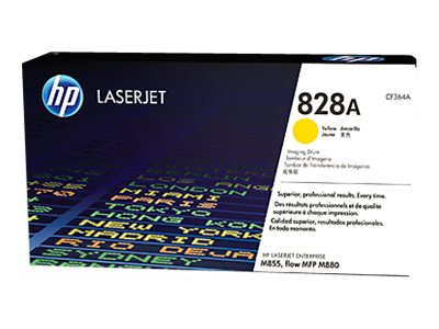 HP 828A Yellow LaserJet Imaging Drum for HP Color LaserJet Enterprise M855 Series, CF364A, 16433855, Toner and Imaging Components