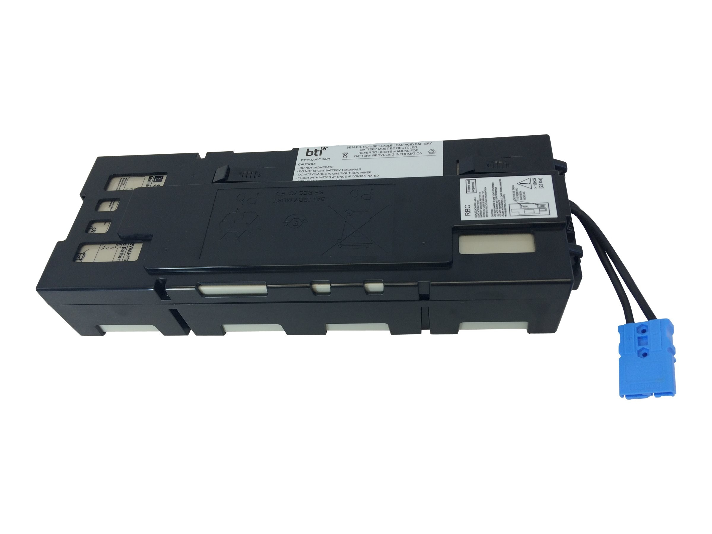 BTI RBC115 APC UPS Replacement Battery BATTSMX1500RM2U APCRBC115, APCRBC115-SLA115