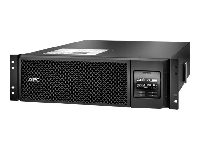 APC Smart-UPS SRT 5000VA 4250W 208V RM Online Extended Runtime (4) Outlets Internal Bypass, SRT5KRMXLT, 18184928, Battery Backup/UPS