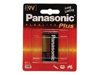 Panasonic Alkaline Battery 9V, 6AM-6PA/1B, 12389885, Batteries - Other