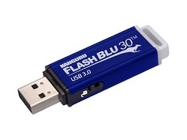 Kanguru™ 64GB FlashBlu30 USB 3.0 Flash Drive with Physical Write Protect Switch, ALK-FB30-64G, 17059404, Flash Drives