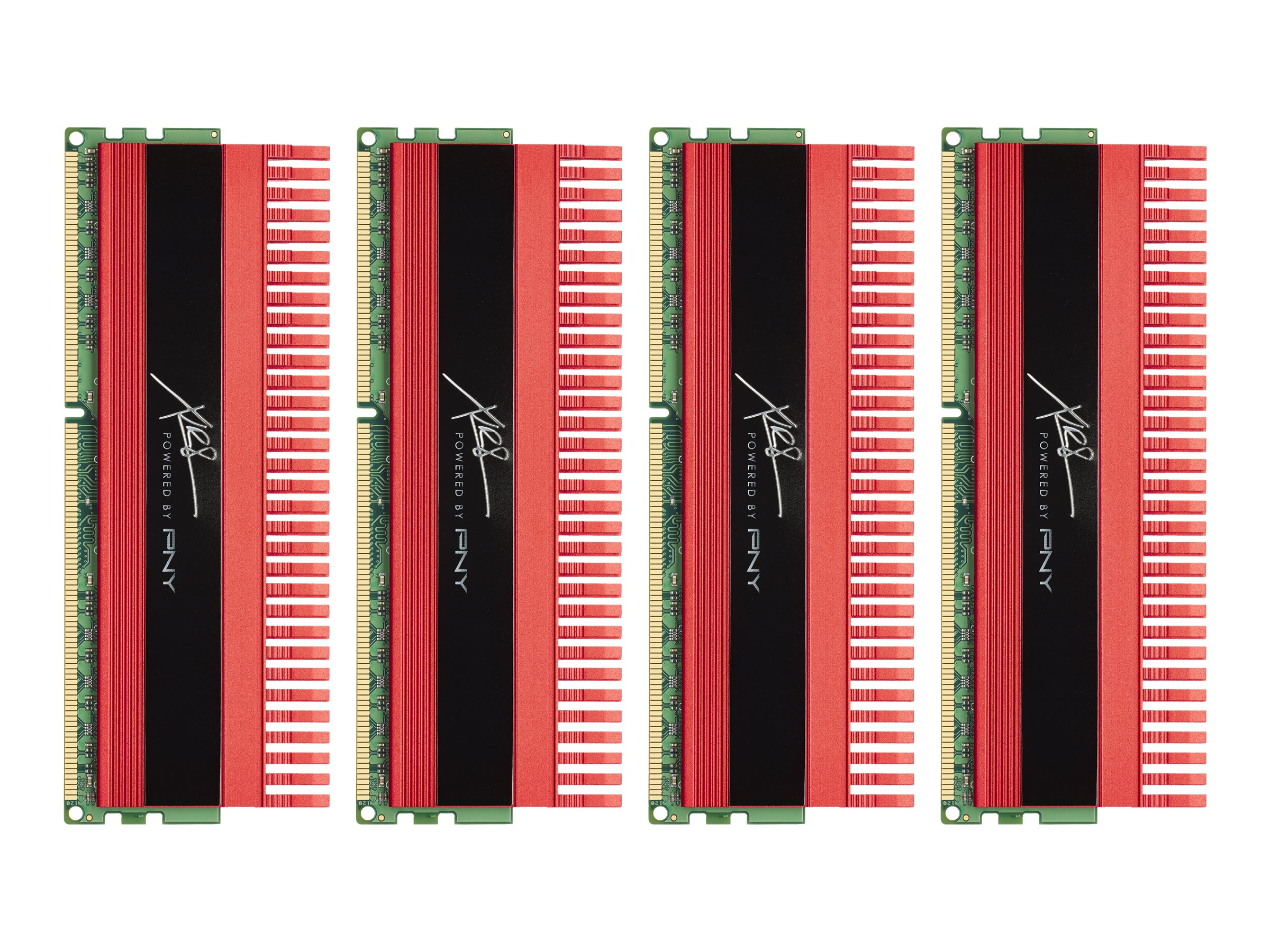 PNY 16GB PC3-17000 240-pin DDR3 SDRAM DIMM Kit, MD16384K4D3-2133-X10, 13769302, Memory