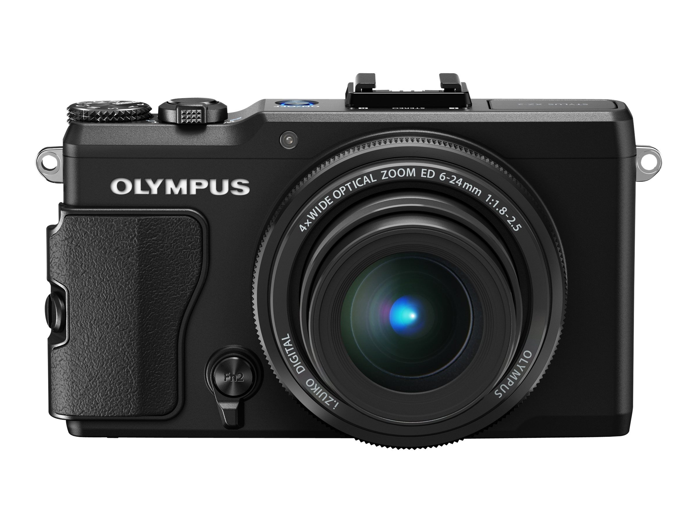 Olympus STYLUS XZ-2 iHS Digital Camera, 12MP, 4x Zoom, Black, V101020BU000