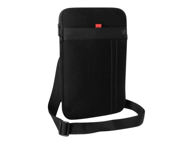 V7 Protective Sleeve w  Removable Strap for Ultrabooks Tablets 11, CSS11BLK-1N, 17435262, Protective & Dust Covers