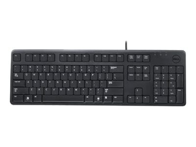 Wyse Keyboard 105-key KB212B Win8 PMX USB French, DJ497