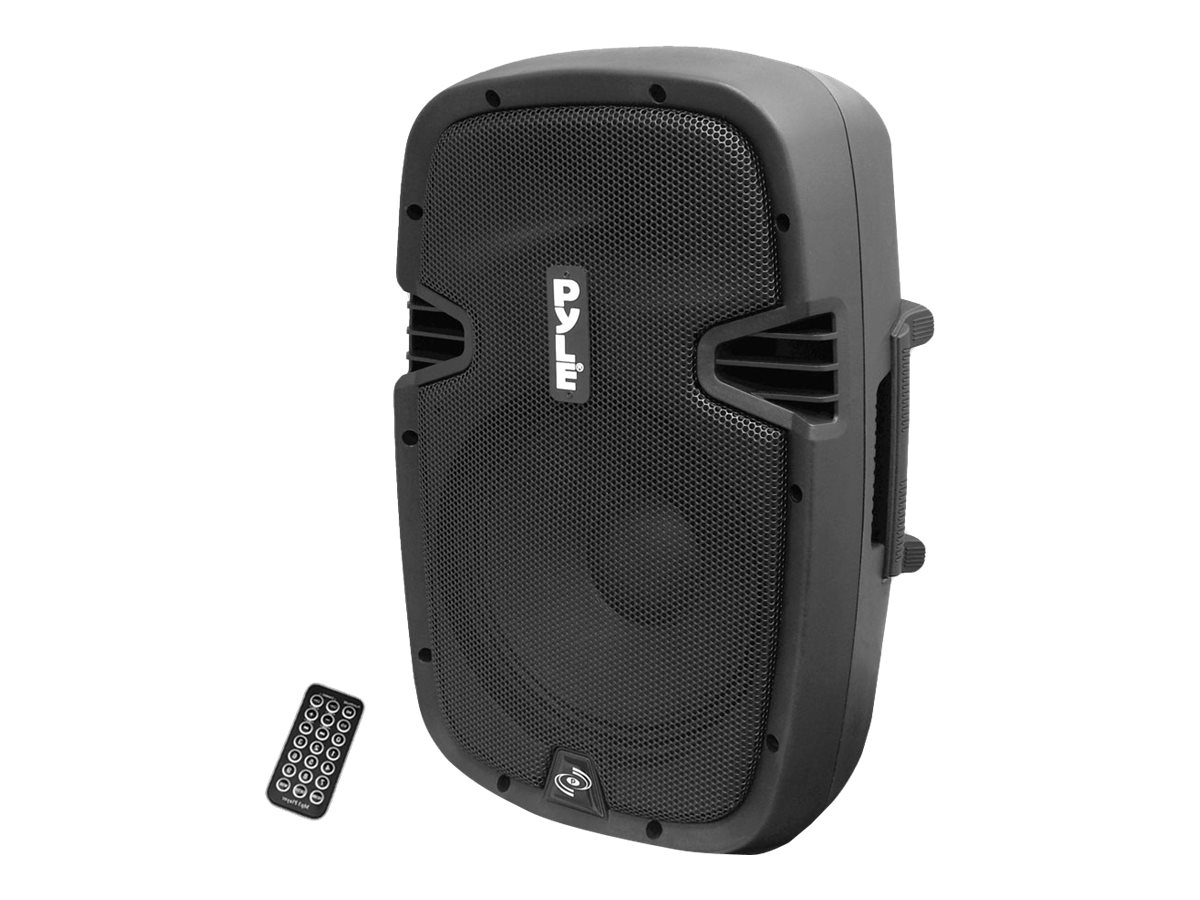 Pyle 8 600 Watt Bluetooth Powered Speaker System with USB Flash Reader, AUX MP3 Input