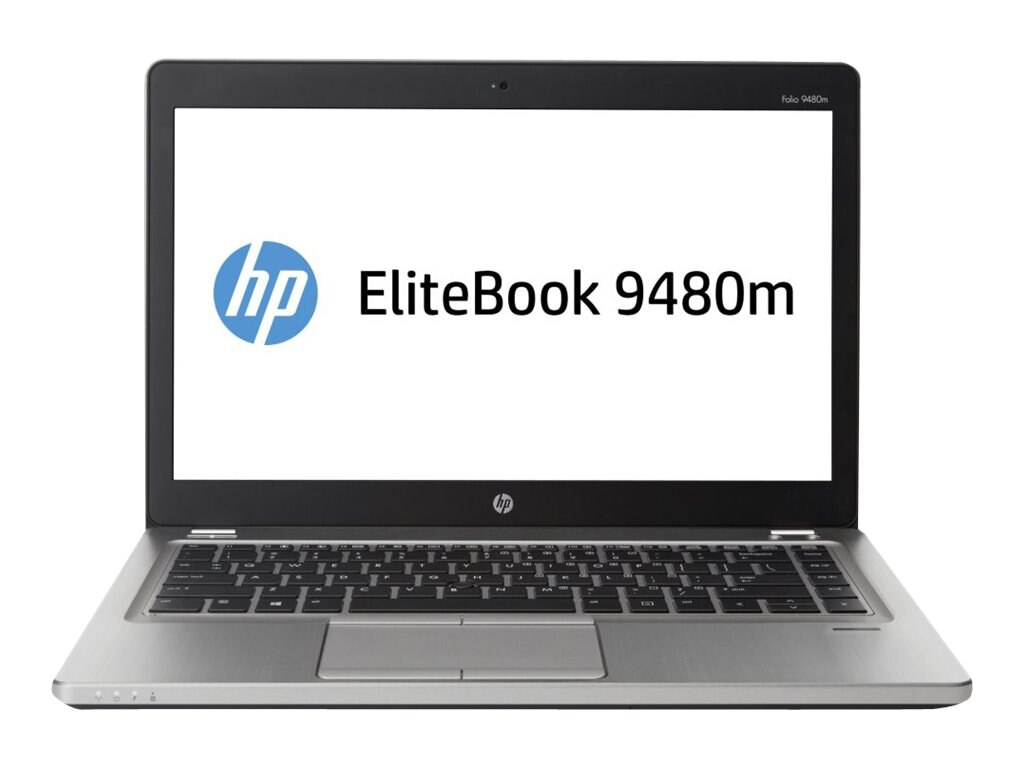 Open Box HP EliteBook Folio 9480M Core i5-4310U 2.0GHz 4GB 256GB SSD abgn ac BT FR 14 HD W7P64-W8.1P, J5P78UT#ABA