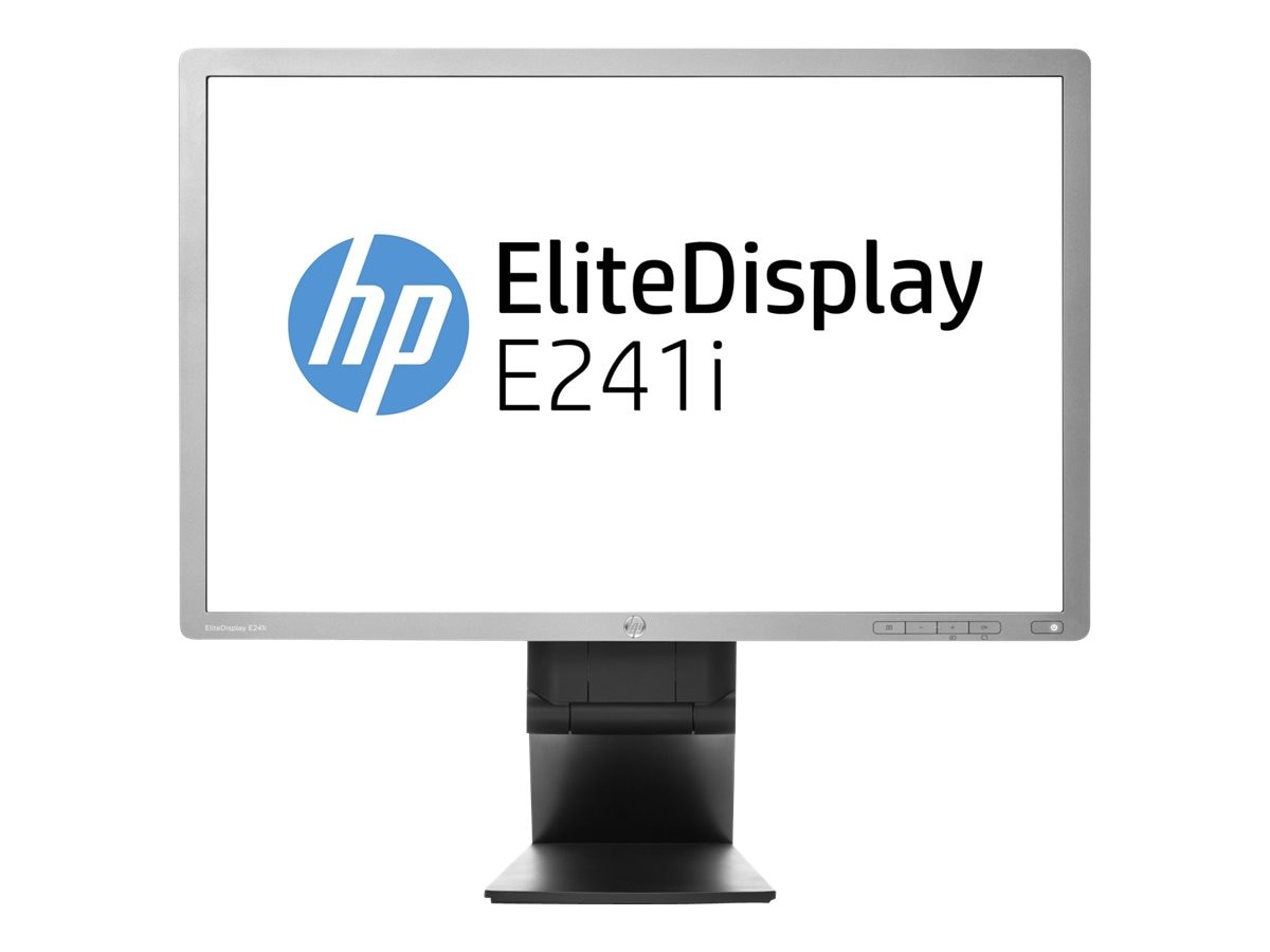 Open Box HP 24 E241i LED-LCD Display, Black, K8Q72AA#ABA, 30940503, Monitors - LED-LCD