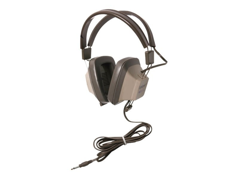 Califone Explorer Binaural Headphone, EH-1, 31472975, Headphones