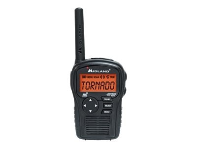 Midland Radio Handheld Weather Alert Radio w  AC Wall Adapter, HH54VP