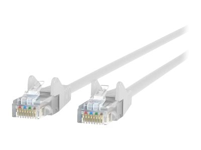 Belkin Cat5e Patch Cable, White, 5ft, Snagless, A3L791-05-WHT-S