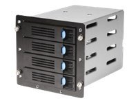 Chenbro 4x3.5 Bays SATA 6Gb s BP SR107 108 Enclosure, 84H210710-090, 13355564, Hard Drive Enclosures - Multiple