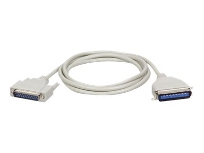 Tripp Lite Bidirectional Parallel Printer A B Cable DB25M Cen36M, 10ft, P602-010, 235669, Cables