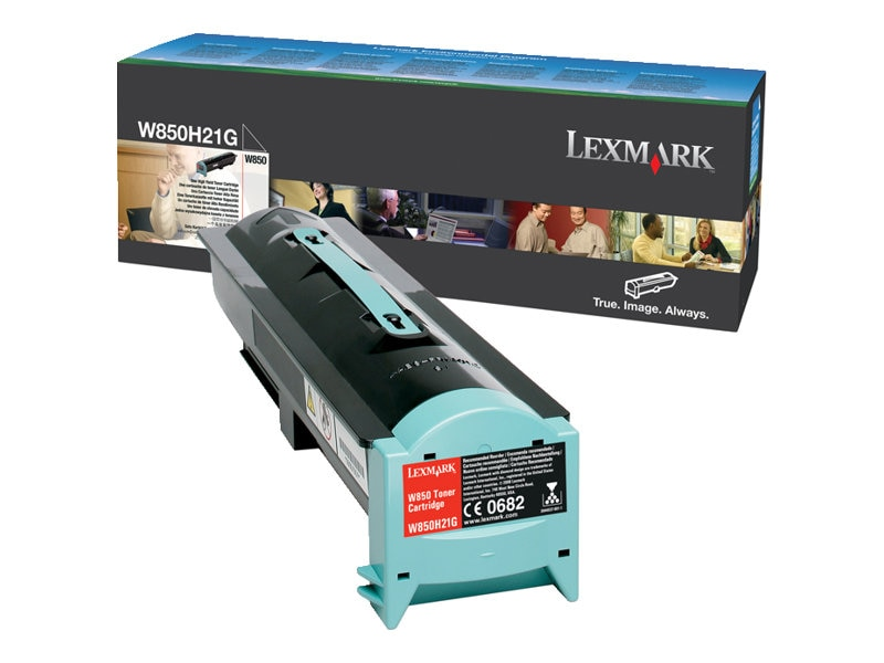 Lexmark Black High Yield Toner Cartridge for W850 Printer Series, W850H21G
